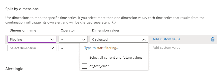 Filter by pipeline name