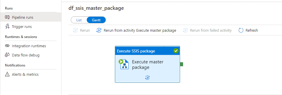 Azure Data Factory SSIS
