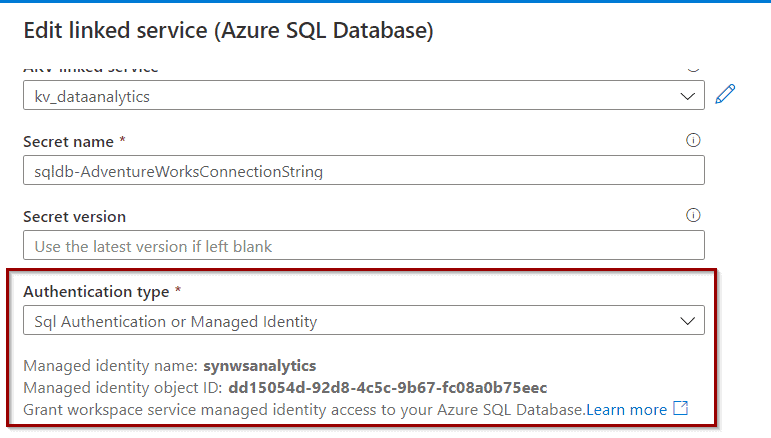 Azure Data Factory and Managed Identities