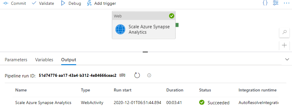 Scale Azure Synapse Analytics SQL Pool with Azure Data Factory