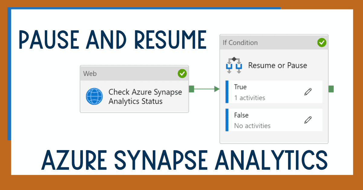 Pause and Resume Azure Synapse Analytics SQL Pool