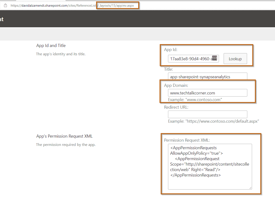 Grant app access to your sharepoint site